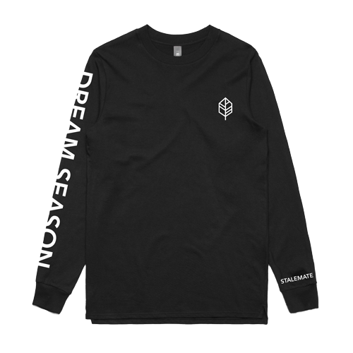 DREAM SEASON - AS COLOUR LONGSLEEVE - BLACK